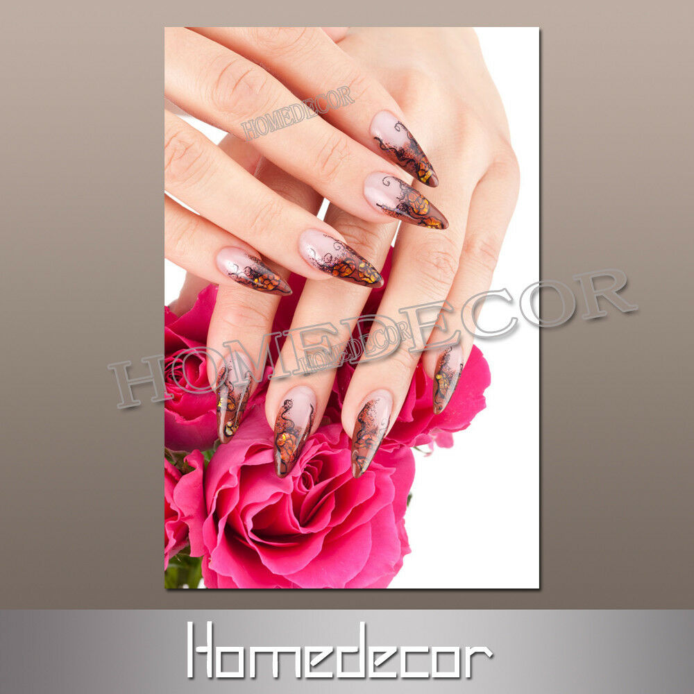 HD Canvas Prints Picture Spa Nail Salon Wall Art Painting
