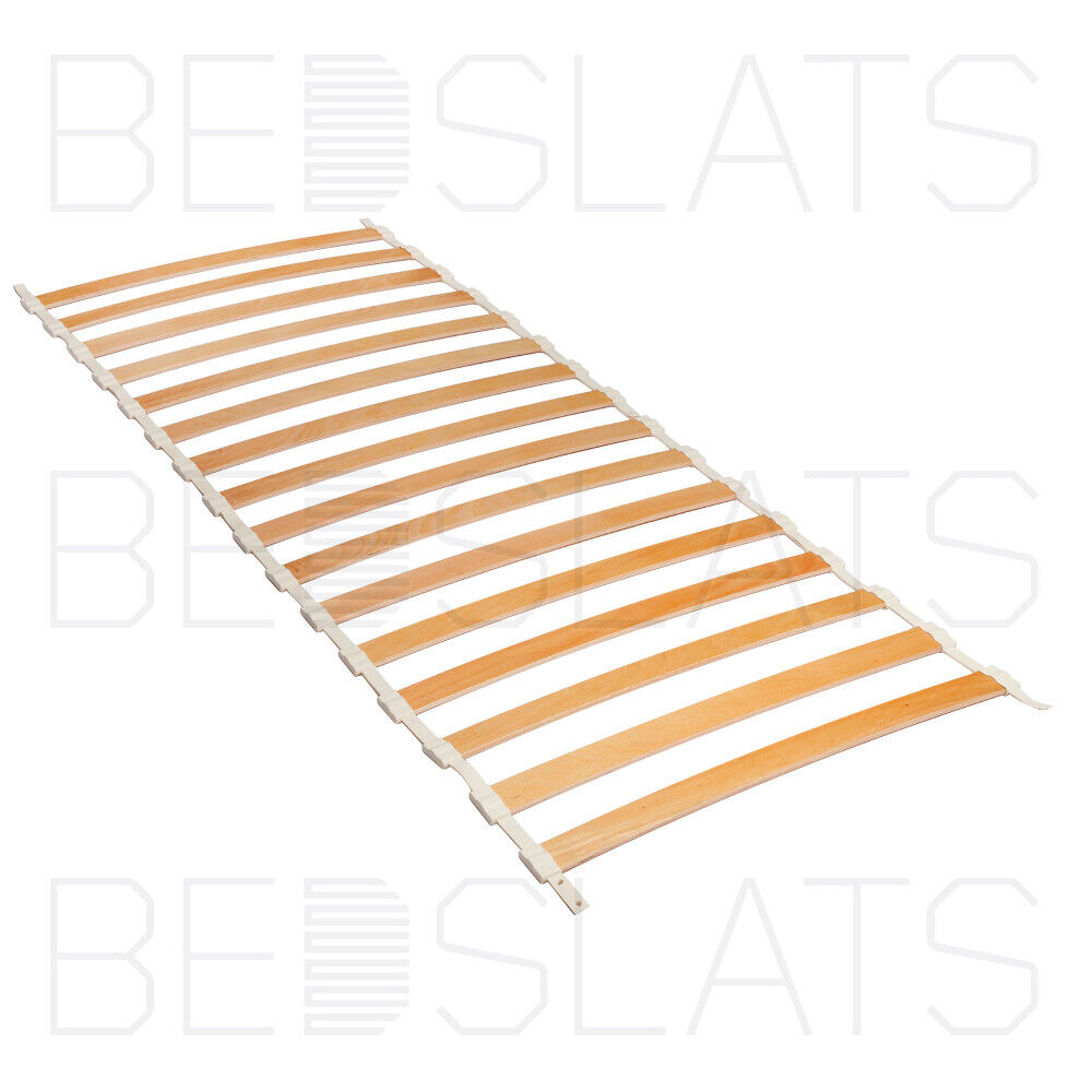 Replacement roll out beech sprung bed slats for small for Rollaway bed ikea