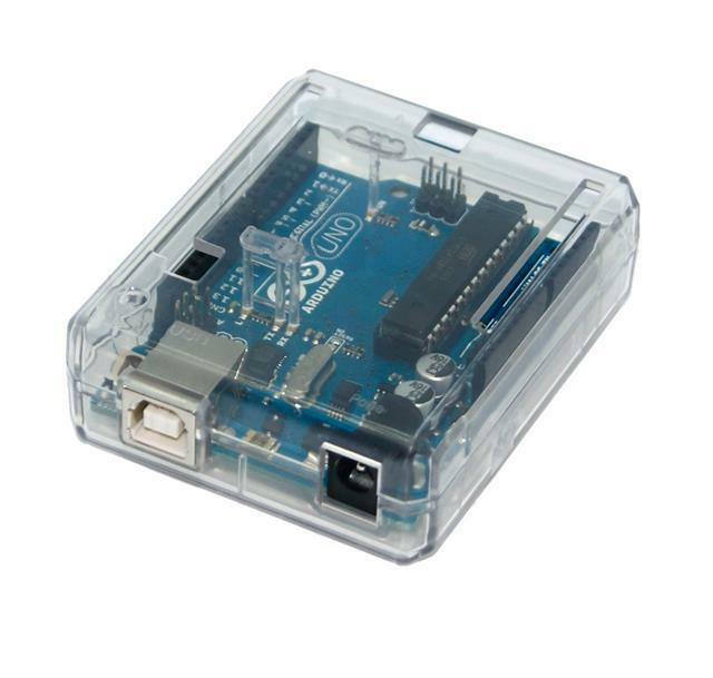 Transparent case for arduino uno by sb components brand