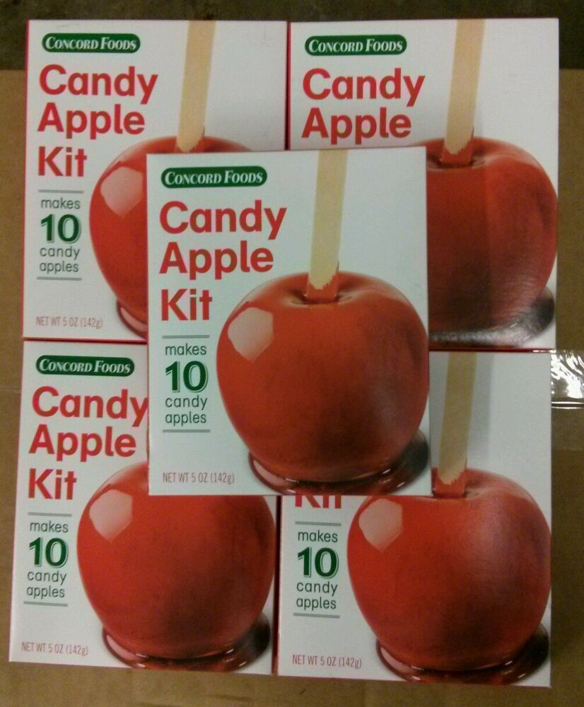 how to make candy apples with kit