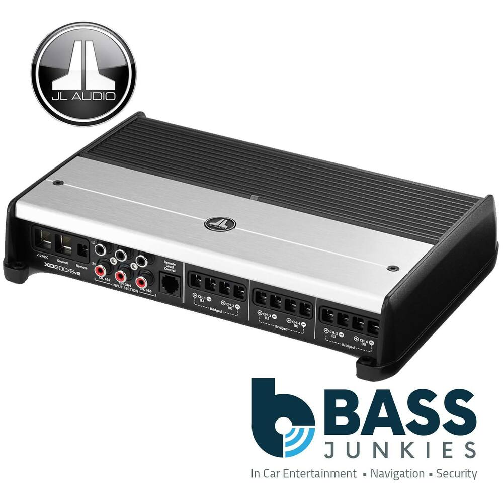 jl audio xd600 6 multi 6 channel amp class d 600 watt car. Black Bedroom Furniture Sets. Home Design Ideas