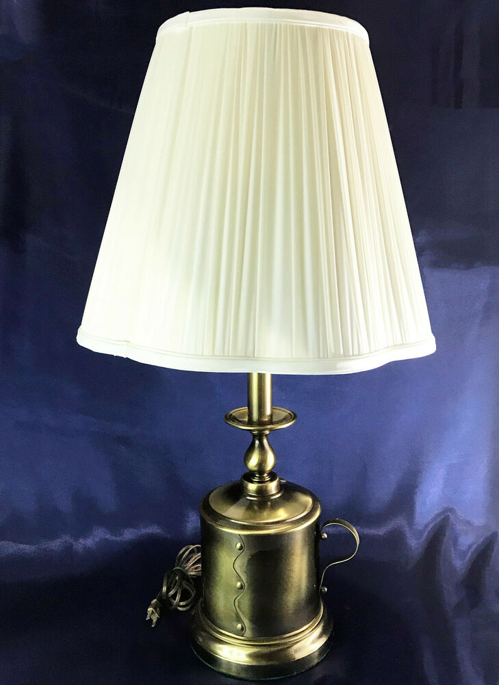 table lamps vintage vintage antique brass colonial can style candle stick 2651