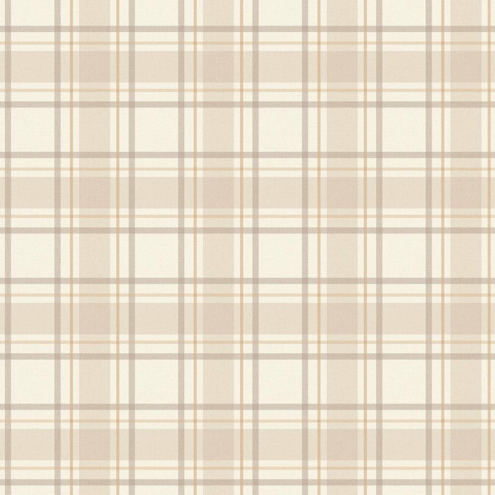 i love wallpaper tartan designer papier peint neutre beige cr me cossais ebay. Black Bedroom Furniture Sets. Home Design Ideas