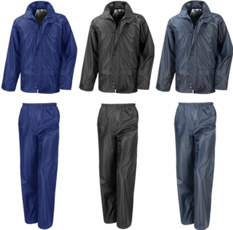 result regenanzug rain suit hose jacke wasserdicht kapuze s m l xl xxl 3xl 2 ebay. Black Bedroom Furniture Sets. Home Design Ideas