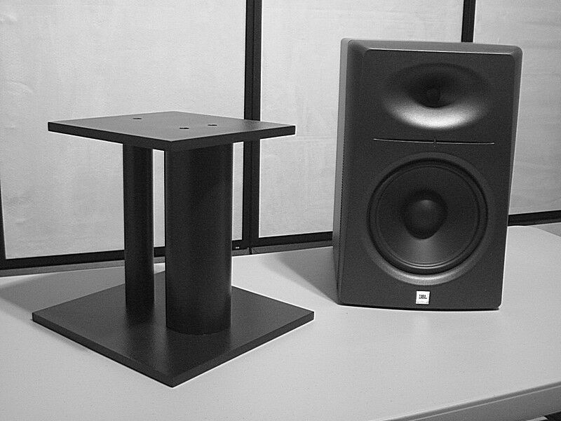 Custom speaker stand ss f up to 6 12 18 24 30 inch for 12 inch floor speakers