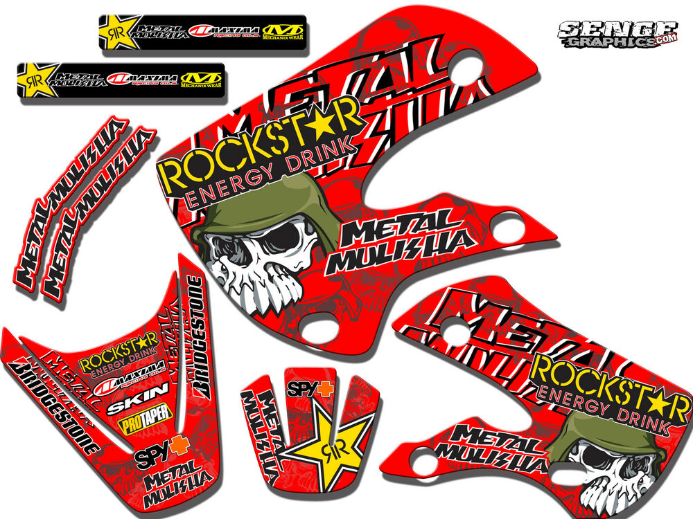 All years cr 85 graphics kit cr85 deco decals stickers 13 for Deco mural stickers