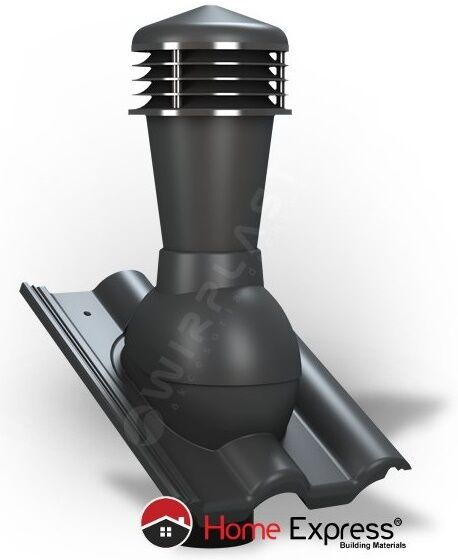 Roof Air Vent Chimney For Ceramic And Concrete Tile All