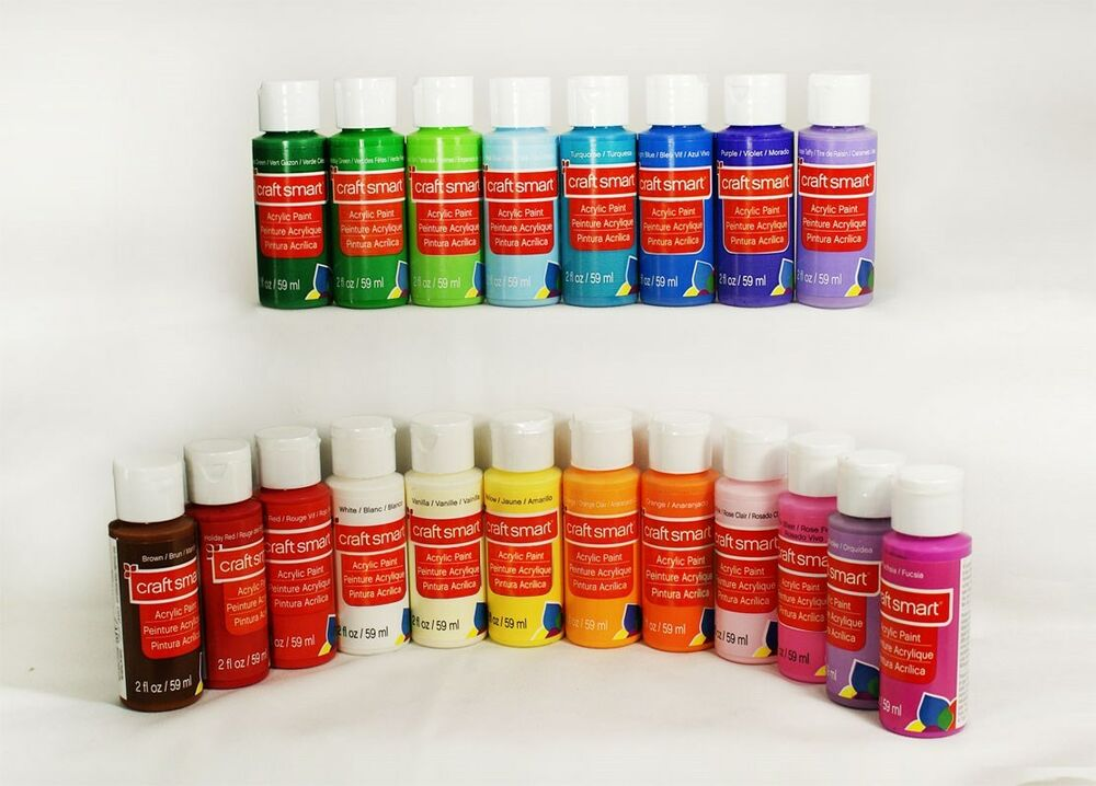 Craft smart delta acrylic paint 2 1 bottle 40 for How to paint bottles with acrylic