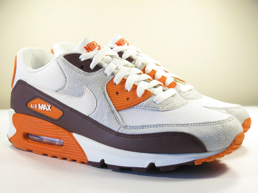 DS NIKE 2011 SAMPLE AIR MAX 90 SAFETY ORANGE 9 INFRARED ...