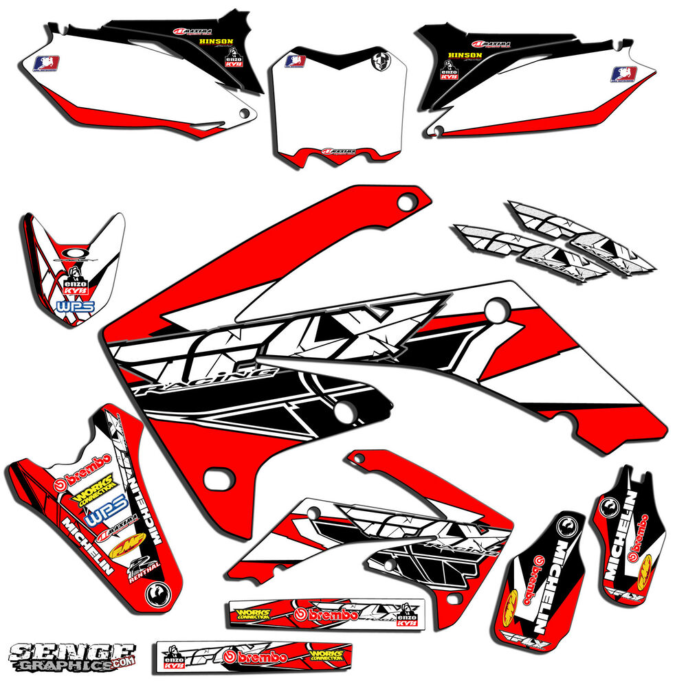 all years crf 70 graphics kit crf70 deco decals stickers pit bike senge ebay