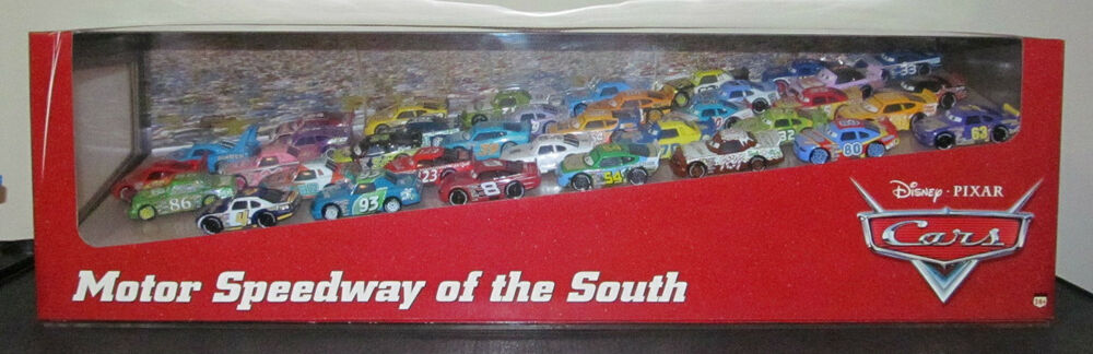 Disney Cars Motor Speedway Of The South Complete Set Apple
