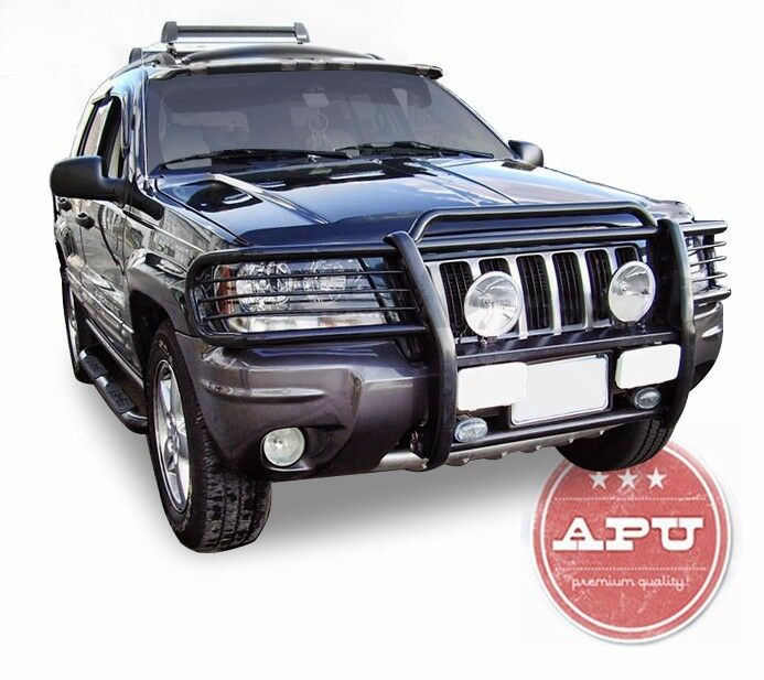 Jeep Grill Guards And Bumpers : Apu  jeep grand cherokee black grille guard push
