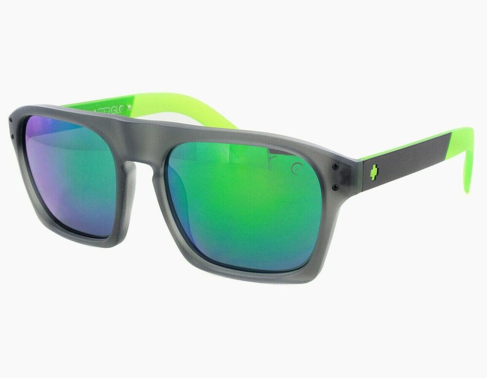 74c0ee2cae Details about Authentic SPY BALBOA AG LIMELIGHT GREY W  GREEN SUNGLASSES  673175131811 56mm