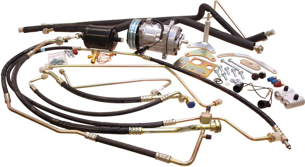 john deere 4430 business industrial compressor conversion kit a6 to sanden john deere 4030 4040 4230 4430
