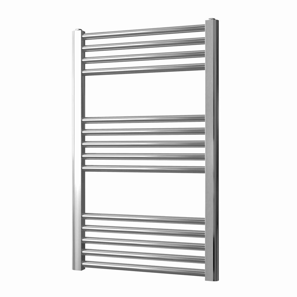 Straight Chrome Heated Towel Rail Electric Ptc The Bray: Chrome Electric Towel Rails All Sizes Straight Or Curved