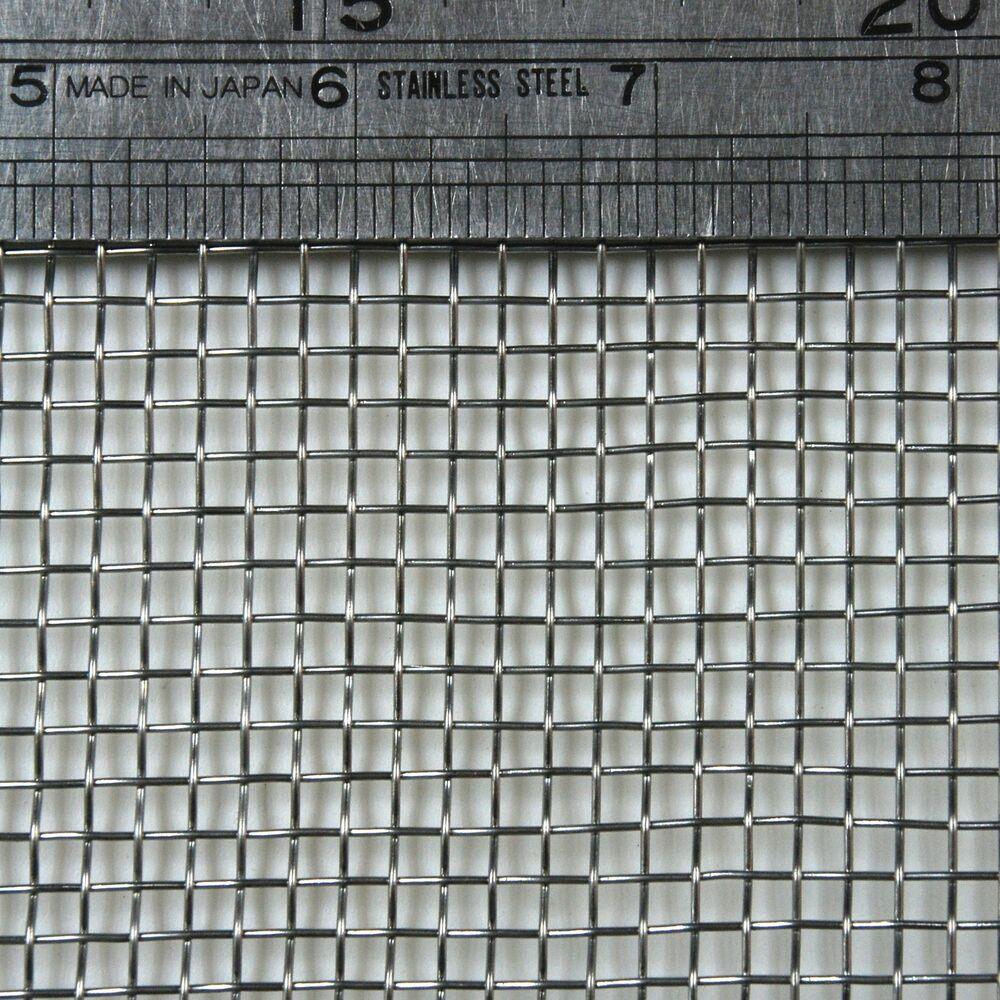 Stainless Steel Woven Wire Mesh 6 Mesh 6 Quot X 6 Quot Type 304