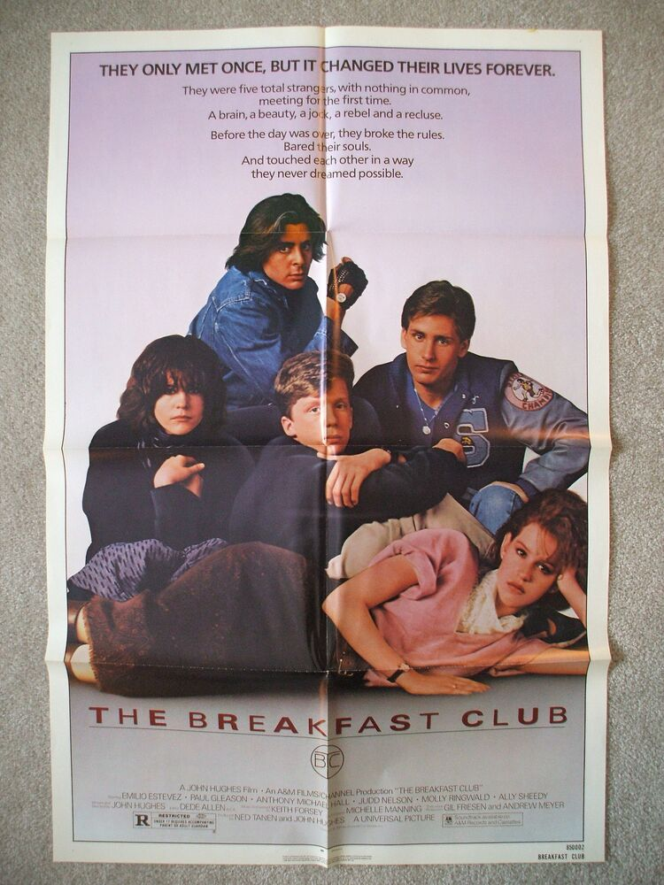 breakfast club essay poster Scorpio the breakfast club lockers poster print enterprise 385-24x36-mv breakfast club 2 poster addition of brian's essay on the side of the poster.
