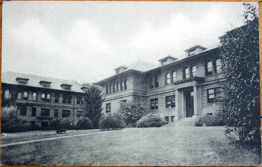 1930 Postcard Agricultural Building Penn State State