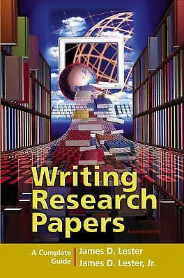 Writing research papers lester 11th edition