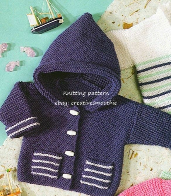 Easy Knitting Patterns Uk : Easy knitting pattern for baby cardigan uk with