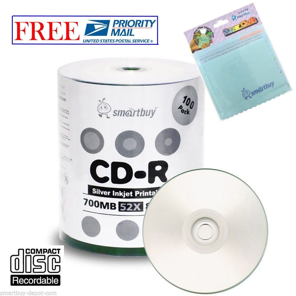 CD-R Verbatim 700Mb 52x 50шт Shrink 43728 80min 700Mb 52x