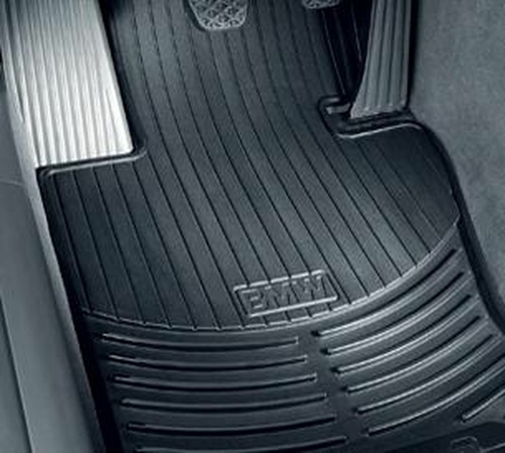 Bmw Car Mats Ebay >> BMW X5 (E70) all-weather rubber floor mats -- FRONT Black ...