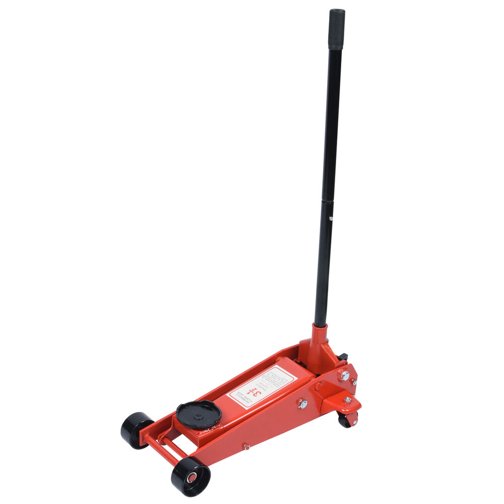 3 5 Ton Floor Jack Heavy Duty Garage Car Auto Swivel
