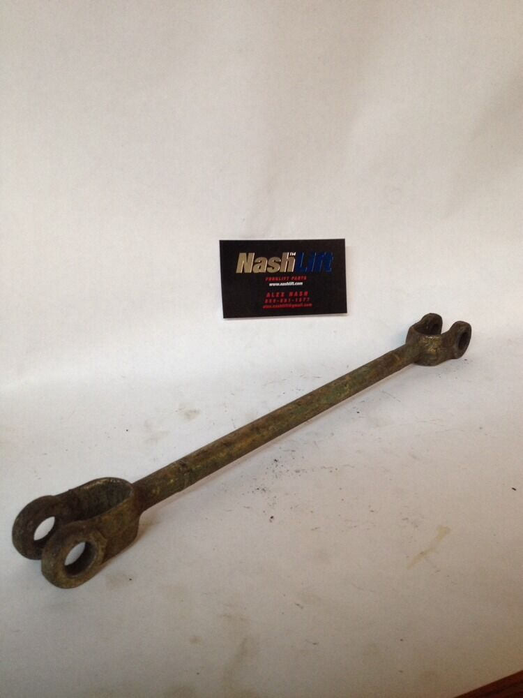A Lever Is A Fork : Clark forklift lever rod good used ebay