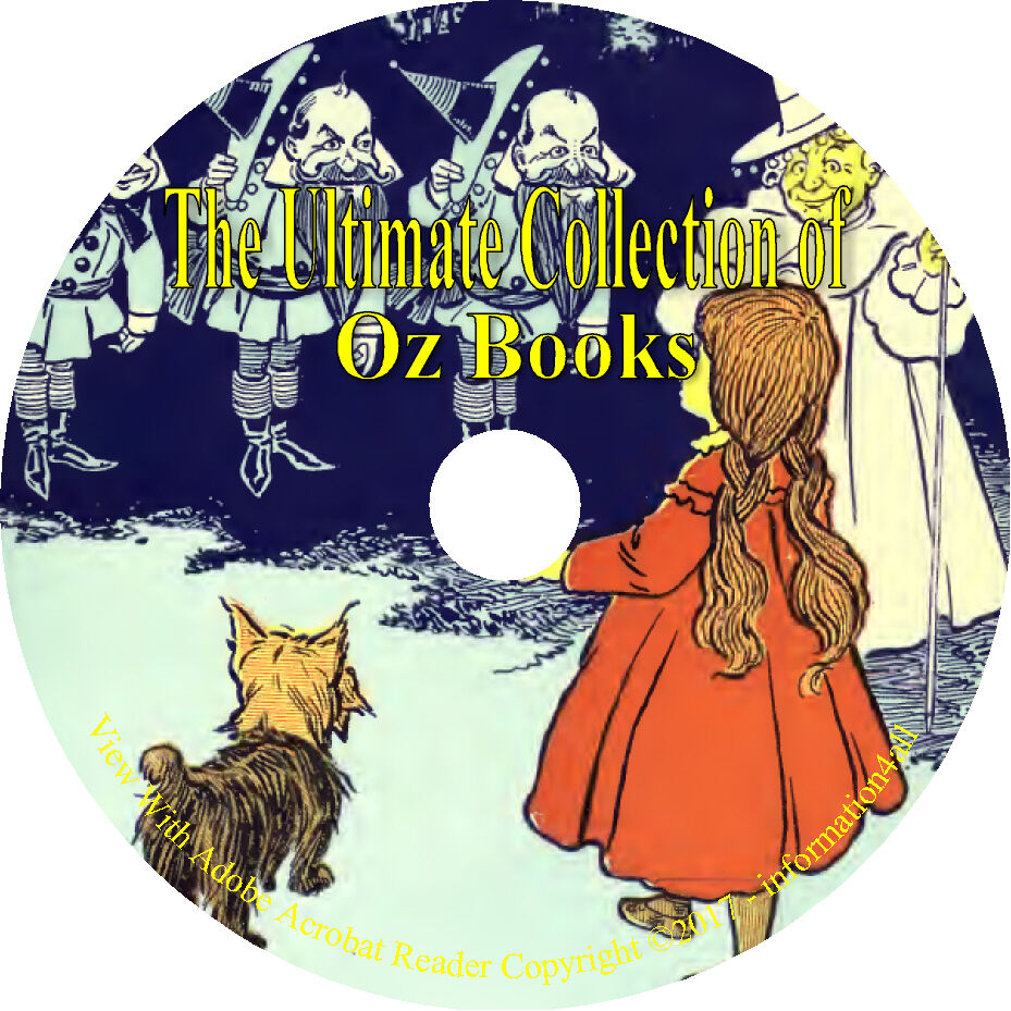 The Wonderful Wizard Of Oz 15 Books Of Oz By L Frank