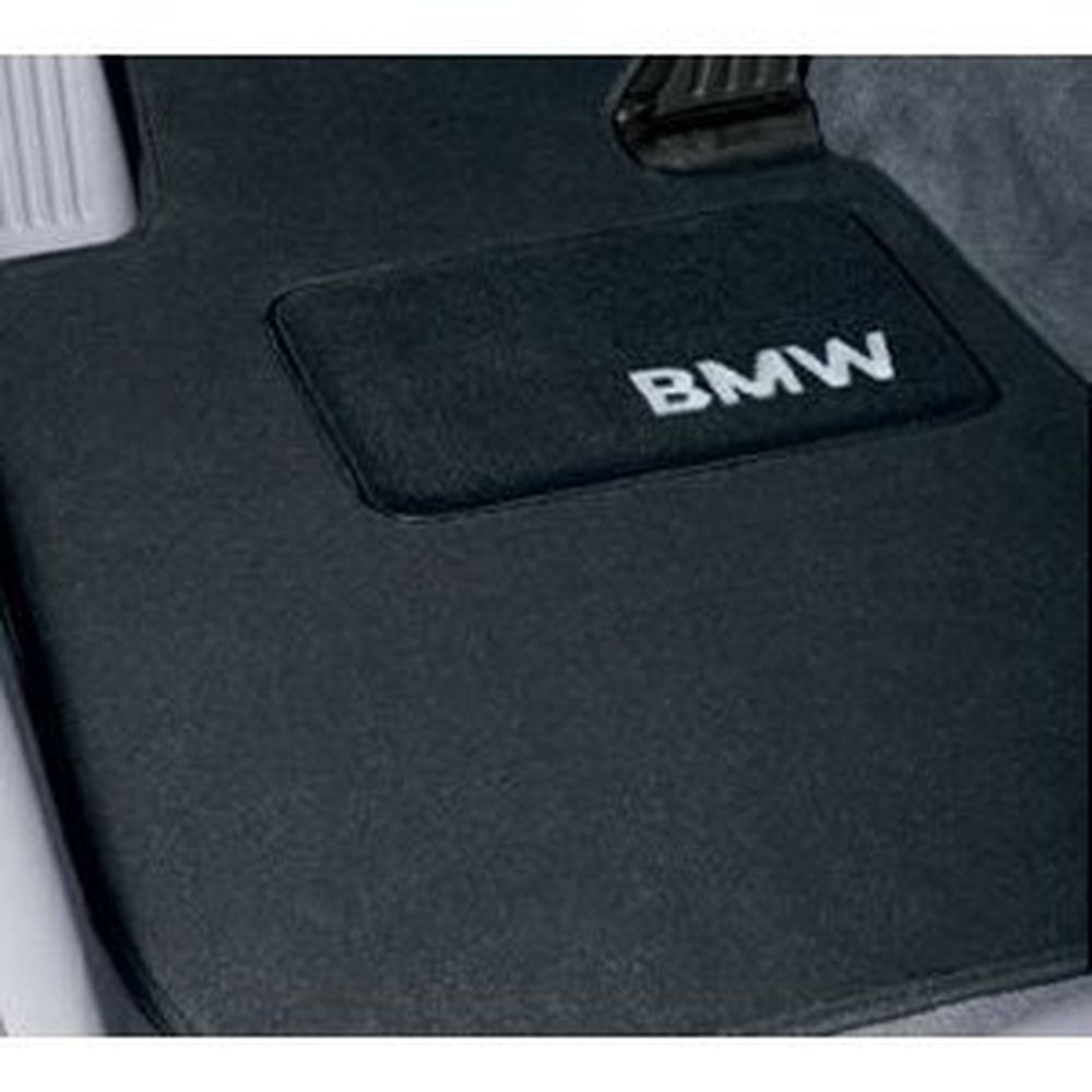Bmw Carpeted Floor Mats Set Of 4 Black For 328i 335i Sdn