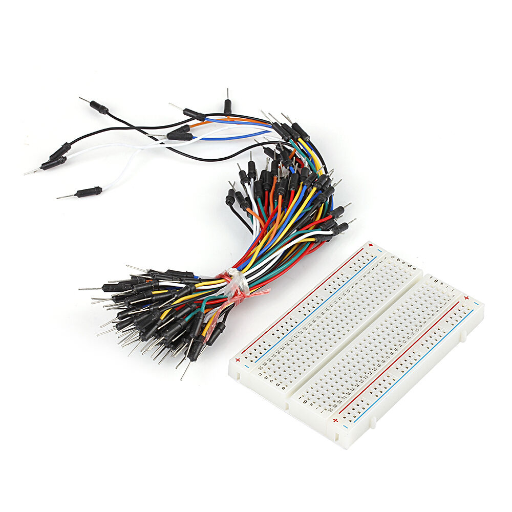 Electronics Cables And Wires : Prototype board electronic deck pcs jumper cable wire