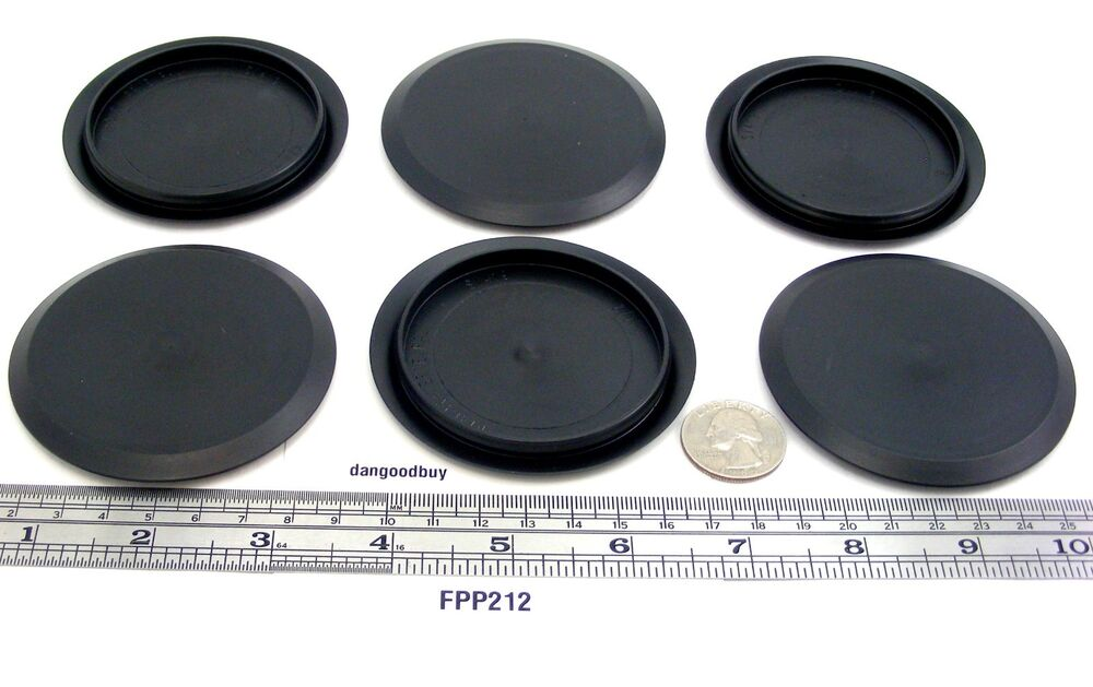 24 Flexible Plastic Snap In Hole Plugs Sheet Metal For 2 1