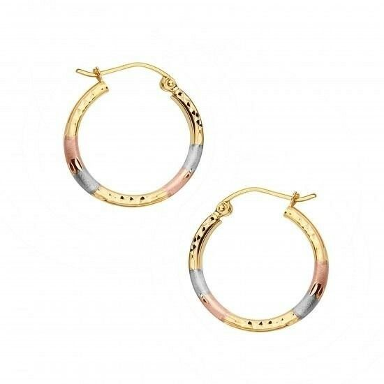 how to put in hinged hoop earrings