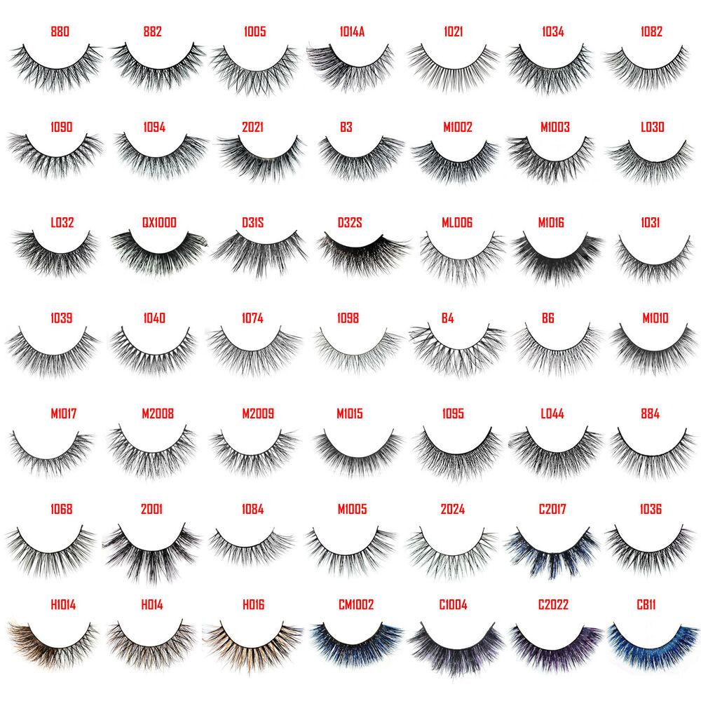 how to make strip lashes