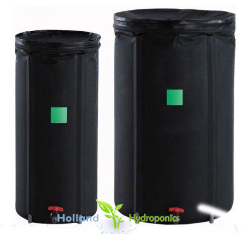 new slimline aqua tank 100l 250l for hydroponic water nutrient reservoir tank ebay. Black Bedroom Furniture Sets. Home Design Ideas