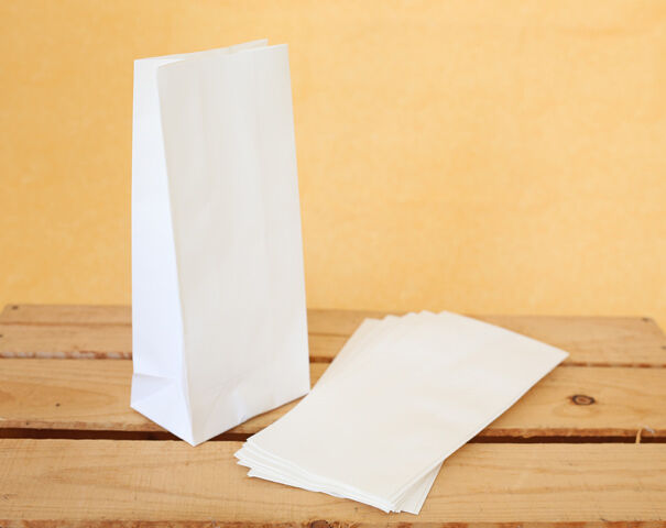 20 small white craft paper bags favour lolly loot gift for Craft paper gift bags