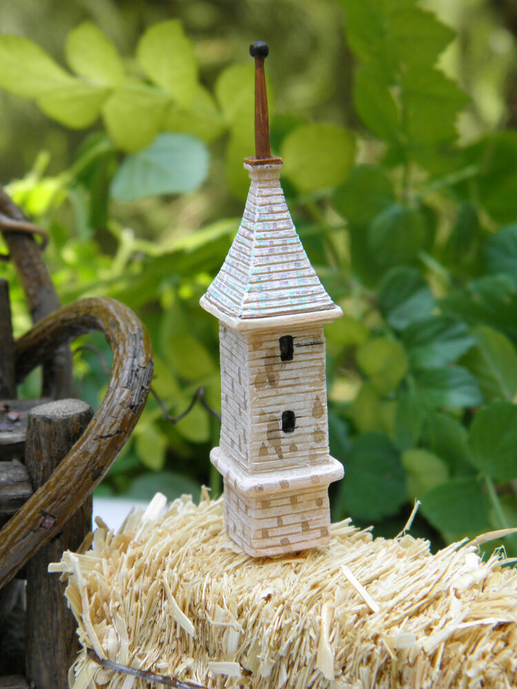 Miniature Dollhouse Fairy Garden Accessories Monastery