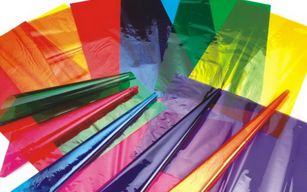 Wrapping materials: Film, Paper, Foil