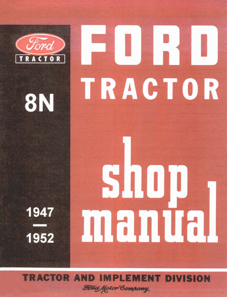 ford 3000 tractor service manual