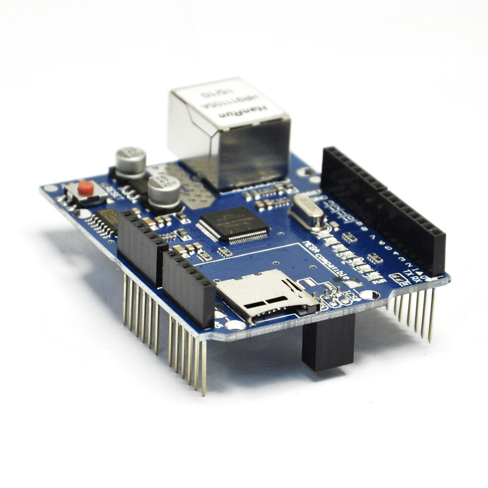 Ethernet shield w for arduino uno mega  avr