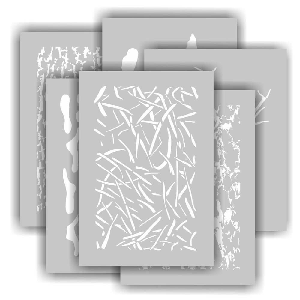Redleg camo products kit individual camouflage for Camo paint template