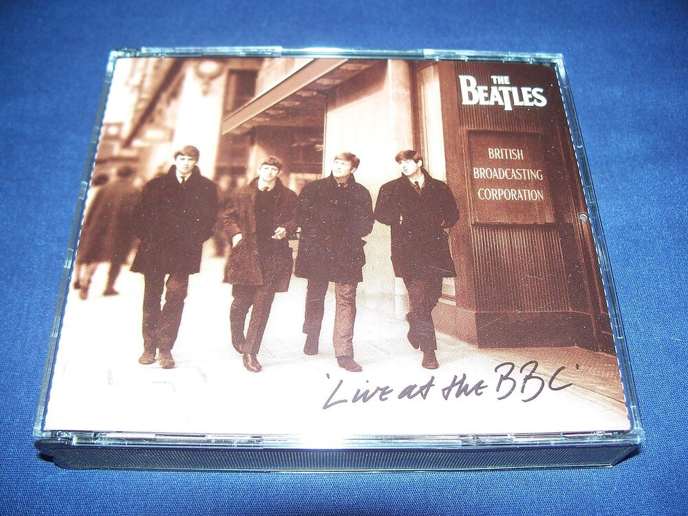 live at the bbc the beatles cd 1994 2 cd set near mint condition free ship 724383179626 ebay. Black Bedroom Furniture Sets. Home Design Ideas