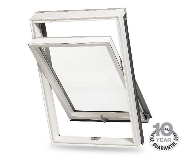 velux style rooflite pvc roof windows including flashing kit ebay. Black Bedroom Furniture Sets. Home Design Ideas