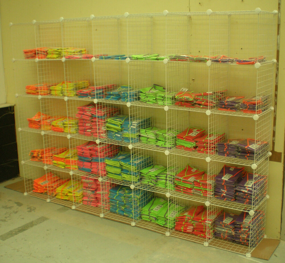 Exhibition Stand Storage : White shelf unit shop retail merchandising display stand