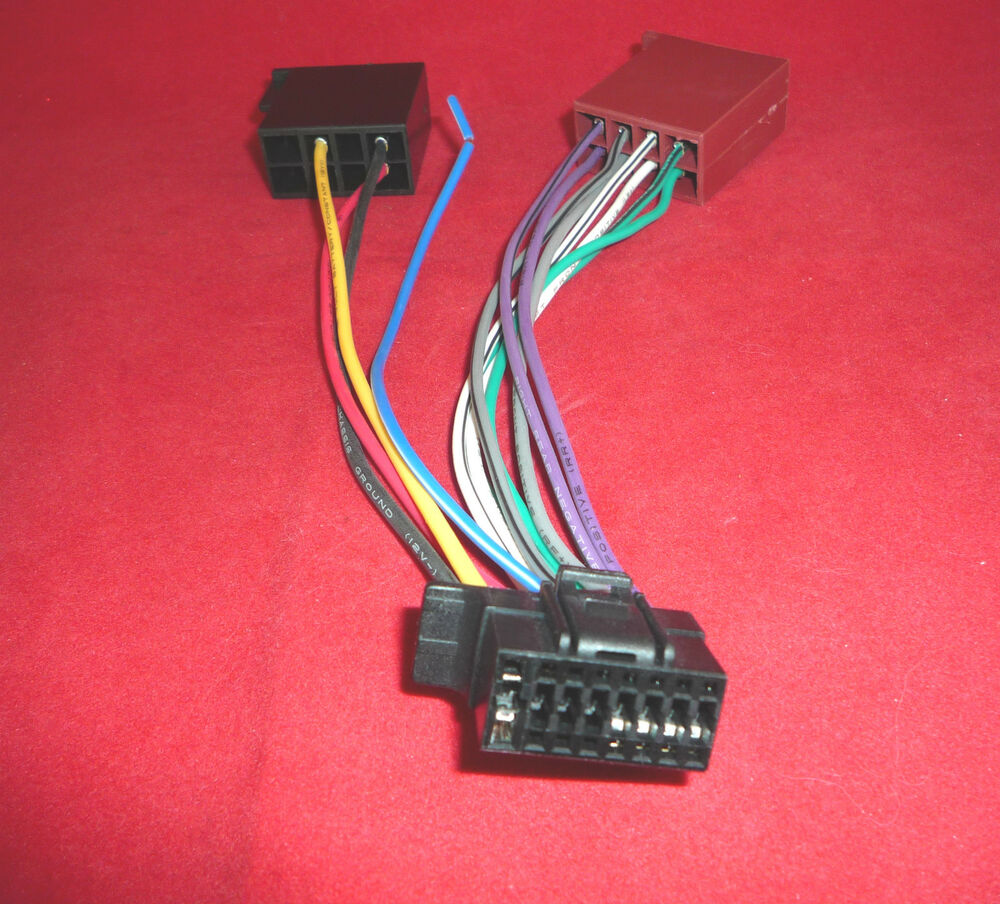 Ct21so02 Sony 16 Pin Iso New Style Wiring Harness Lead
