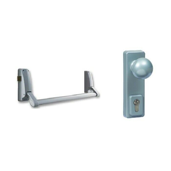 Briton Door Lock Pack B378 Rim Panic Latch Bolt Bar