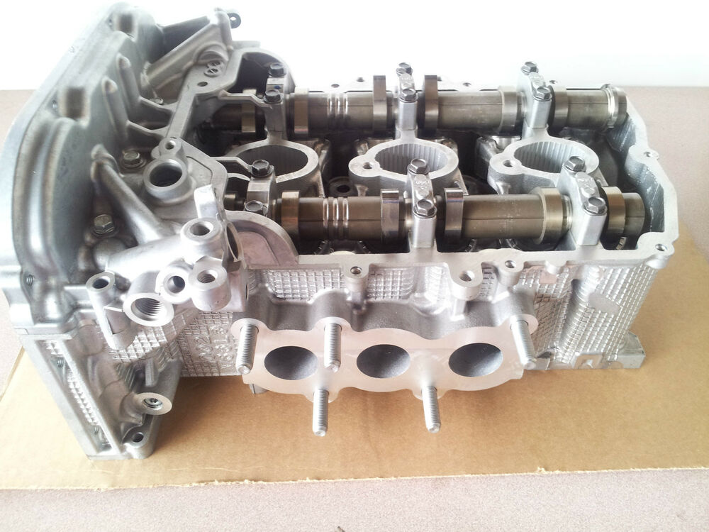 new 08 subaru tribeca legacy outback 3 6 3 6r ez36 driver left cylinder head ebay. Black Bedroom Furniture Sets. Home Design Ideas