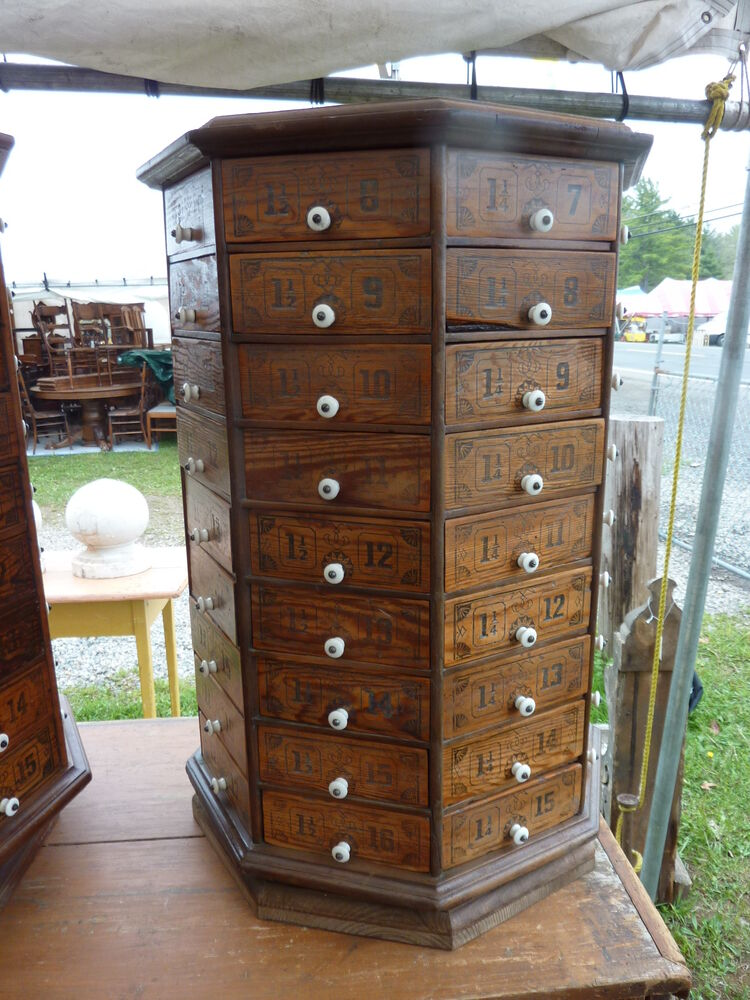 hardware storage cabinet c1900 vintage antique bolt amp octagonal hardware 16221