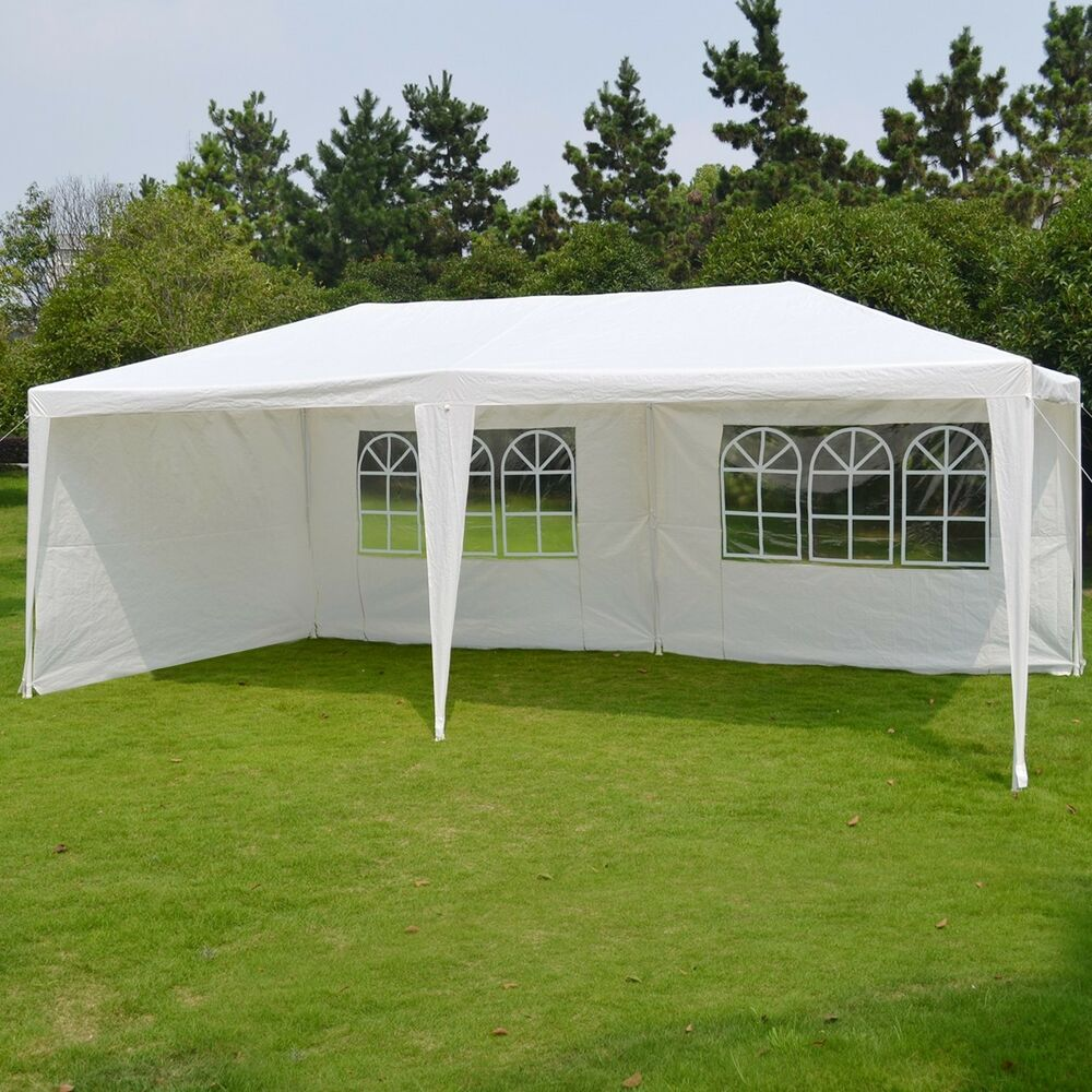 Wedding Party Tent Outdoor Easy Set Gazebo Bbq Pavilion
