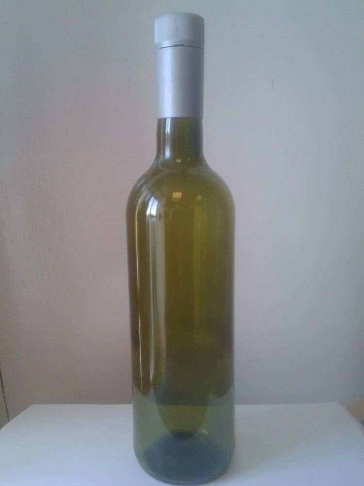 48 x 750ml green glass screw top wine bottle inc caps for How to make glasses made from wine bottles